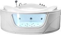Ванна акриловая Gemy G9247 K 165x165 (с гидромассажем) -