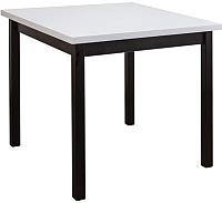 Обеденный стол Drewmix Max 9 (сосна андерсен/черный) -