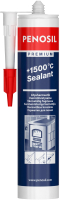 Герметик силиконовый Penosil Premium +1500C (310мл, черный) -