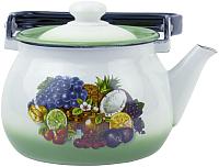 Чайник Idilia Зеленая тропиканка 2710/3 -
