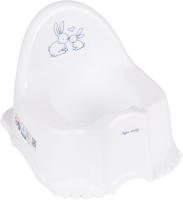 Детский горшок Tega Кролики / KR-007-103 (белый) -