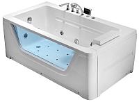 Ванна акриловая Gemy G9225K 172x91 (с гидромассажем) -