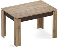 Обеденный стол Eligard Arris 1 118-157x72x76 (дуб натуральный) -