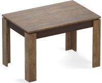 Обеденный стол Eligard Arris 1 118-157x72x76 (дуб канзас) -