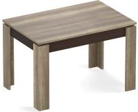 Обеденный стол Eligard Arris 1 118-157x72x76 (дуб каньон) -