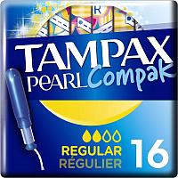 Тампоны гигиенические Tampax Compak Pearl Regular (16шт) -