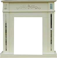 Портал для камина Смолком Lotos STD (белый/ваниль) -