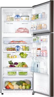 Холодильник с морозильником Samsung RT43K6000DX/WT