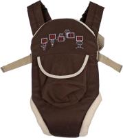 Сумка-кенгуру Топотушки Комфорт с кармашком (коричневый) -