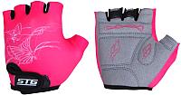 Перчатки велосипедные STG Х61898-М (M, розовый) -