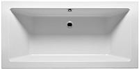 Ванна акриловая Riho Lugo 180x80 / BT02005 (с ножками) -