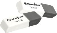 Ластик Darvish DV-6233 (серый/белый) -
