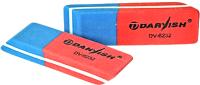 Ластик Darvish DV-6232 (синий/красный) -