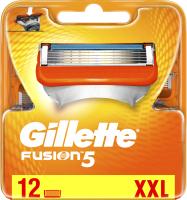 Сменные кассеты Gillette Fusion (12шт) -