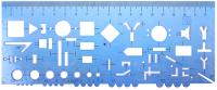 Трафарет Darvish DV-7513 (20см) -