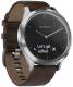 Умные часы Garmin Vivomove HR Premium / 010-01850-24 (L, черный/серебристый) -