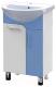 Тумба с умывальником Triton Эко 55 со сменными элементами (голубой) -