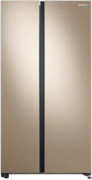 Холодильник с морозильником Samsung RS61R5001F8/WT -
