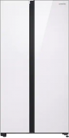 Холодильник с морозильником Samsung RS62R50311L/WT -