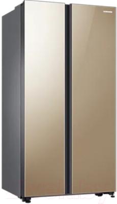 Холодильник с морозильником Samsung RS62R50314G/WT