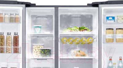 Холодильник с морозильником Samsung RS62R5031B4/WT