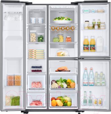 Холодильник с морозильником Samsung RS68N8670SL/WT