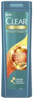 Шампунь для волос Clear Детокс увлажняющий против перхоти (200мл) -
