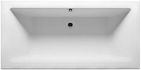 Ванна акриловая Riho Lugo Velvet 180x80 / BT02105 (с ножками) -