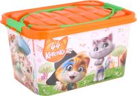 Контейнер для хранения Альтернатива 44 котёнка / М7648 -