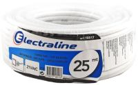 Кабель Electraline 18017 (25м, белый) -