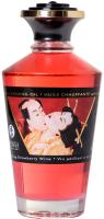 Эротическое массажное масло Shunga Sparkling Strawberry Wine / 2208 (100мл) -