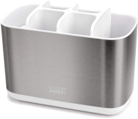 Органайзер для ванны Joseph Joseph EasyStore Steel 70531 (белый) -