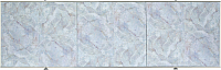 Экран для ванны Comfort Alumin Плитка голубая 150 -