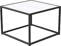 Журнальный столик Millwood Art-2 Л 49x49x49 (дуб белый Craft/металл черный) -