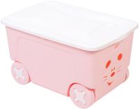 Ящик для хранения Little Angel Cool на колесах / LA1032 (50л) -