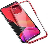 Чехол-накладка Baseus Glitter для iPhone 11 Pro / WIAPIPH58S-DW09 (красный) -