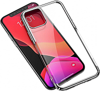 Чехол-накладка Baseus Glitter для iPhone 11 Pro / WIAPIPH58S-DW0S (серебристый) -