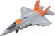 Самолет игрушечный Huada Авиционная Техника 770 / 1785395-WY770A -