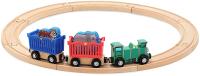 Железная дорога детская Melissa & Doug Поезд с дикими животными / 643 -