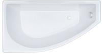 Ванна акриловая Triton Бэлла 140x75 R (с каркасом, экраном и сифоном) -