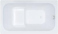 Ванна акриловая Triton Арго 120x70 (с каркасом, экраном и сифоном) -