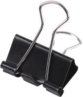 Зажим для бумаги Darvish DV-1472 (25мм, черный) -