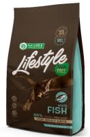 Корм для кошек Nature's Protection Lifestyle Grain Free Adult White Fish / NPLS45960 (7кг) -