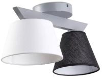 Потолочный светильник N&B Light Йоке 40077 (серый матовый) -