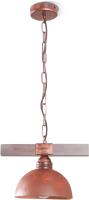 Потолочный светильник N&B Light Вириони 40304 (медь/патина/дерево) -