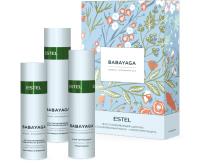 Набор косметики для волос Estel Babayaga шампунь 250мл+маска 200мл+термозащитный спрей 200мл -