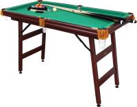 Бильярдный стол FORTUNA Пул 4фт 9 в 1 / 07738 (с комплектом аксессуаров) -