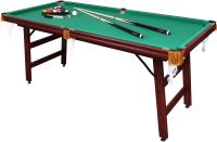 Бильярдный стол FORTUNA Пул 6фт / 04656 (с комплектом аксессуаров) -