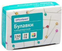 Булавки канцелярские OfficeSpace SP28-2262 (150шт) -