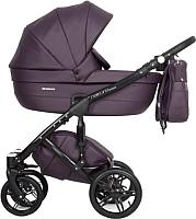 Детская универсальная коляска Riko Naturo Ecco 2 в 1 (01/plum) -